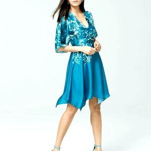 WHBM Dolman Satin Dress